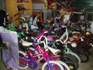 Inventory of kids bikes